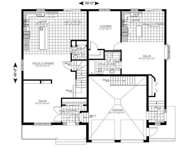 Stunning plan maison type ideas for Plan de maison type